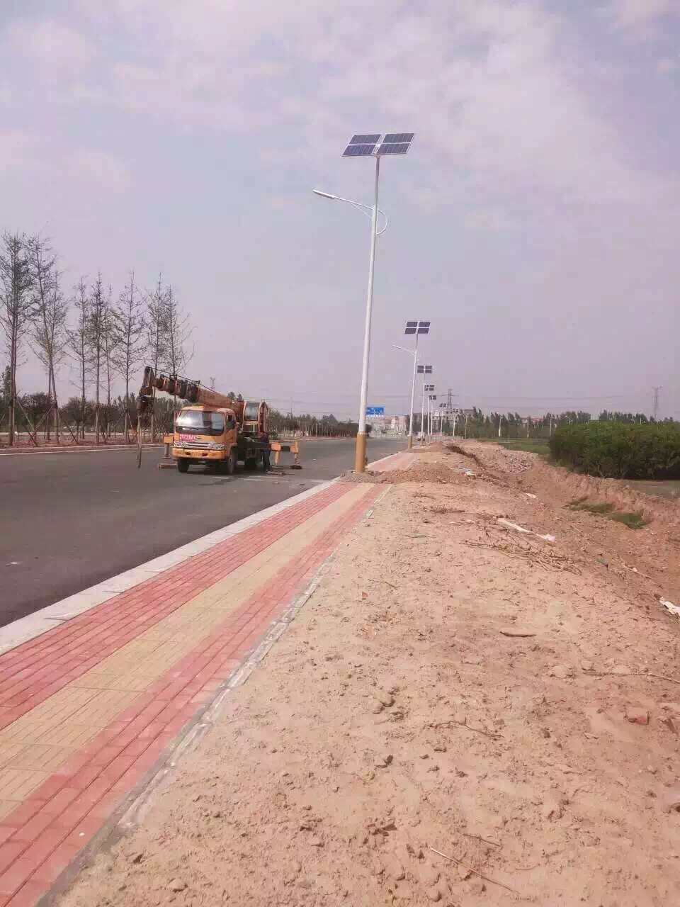 Solar Street Lights Projekte in Xi Ning